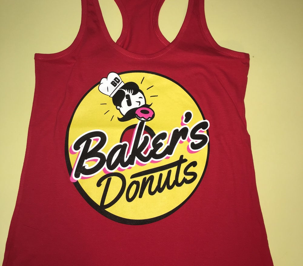 Image of Bakers Donuts Women's Tank Top