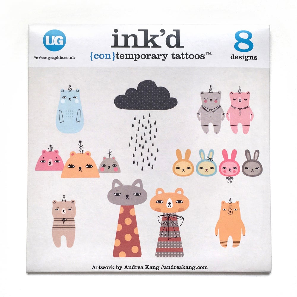 Image of Ink'd Temporary Tattoo Pack