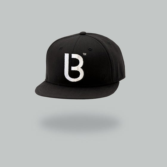 Image of Bedrock B Baseball Cap with white stitch pre-order