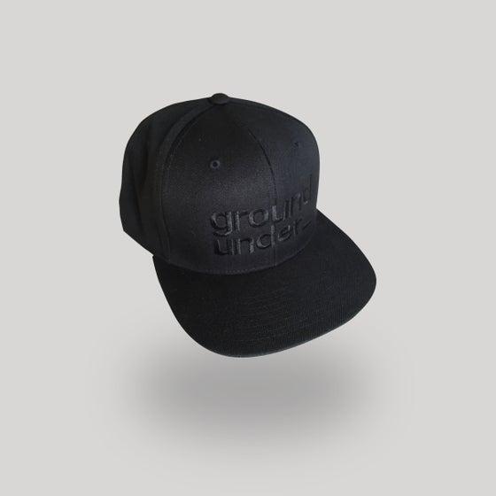 Image of Bedrock Underground Baseball Cap with black stitch