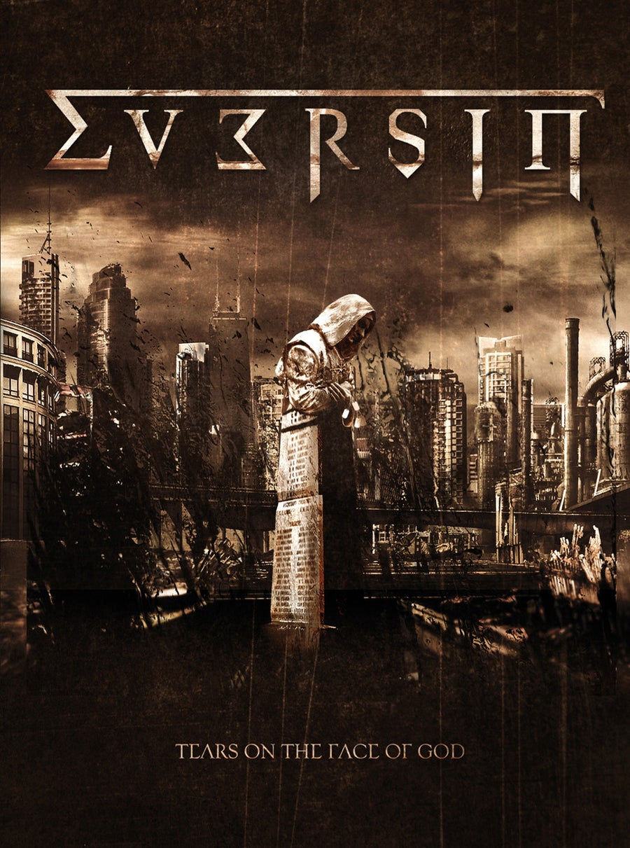 "Image of EVERSIN ""Tears On The Face Of God"" A5 digiCD"