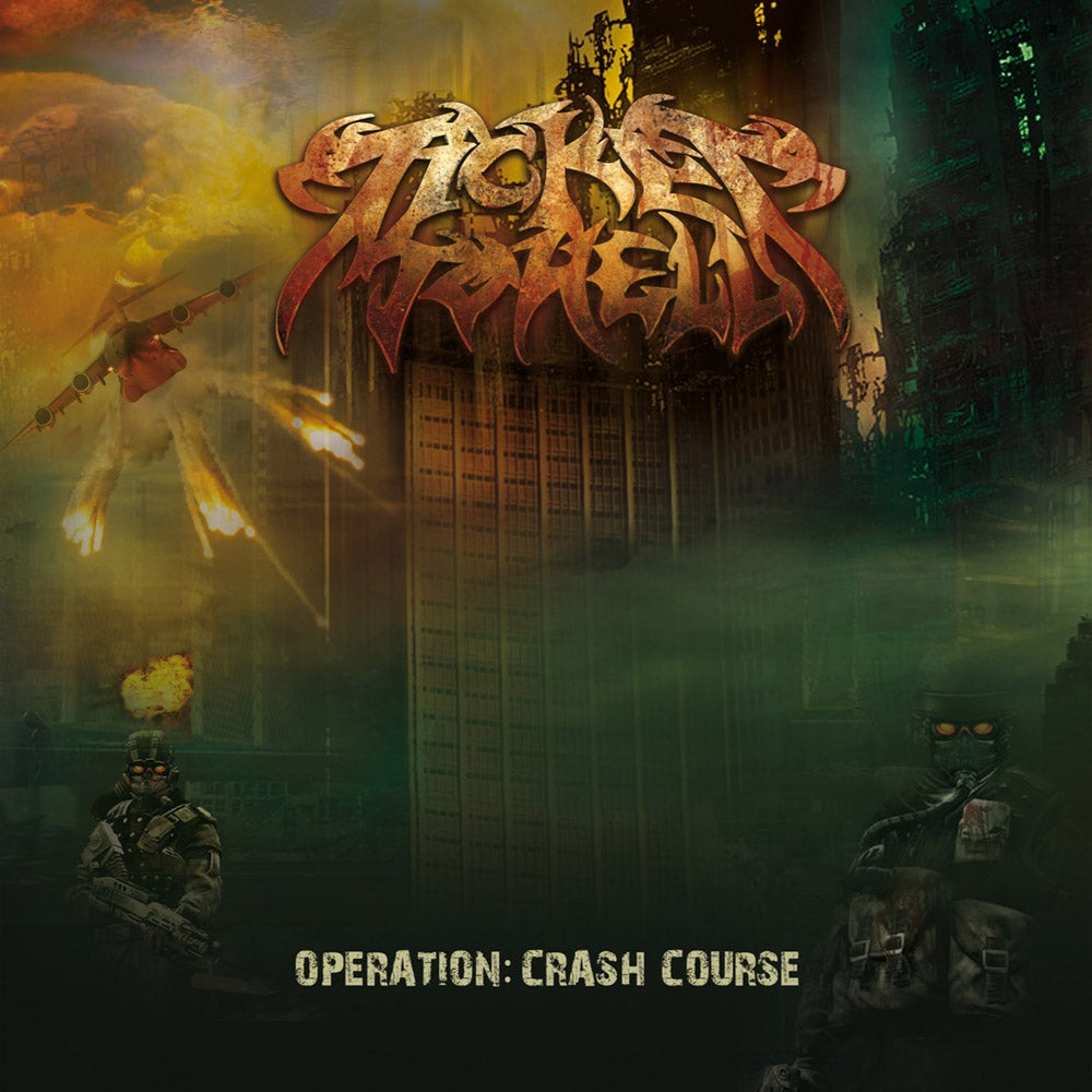 """Image of TICKET TO HELL """"Operation: Crash Curse"""" CD"""
