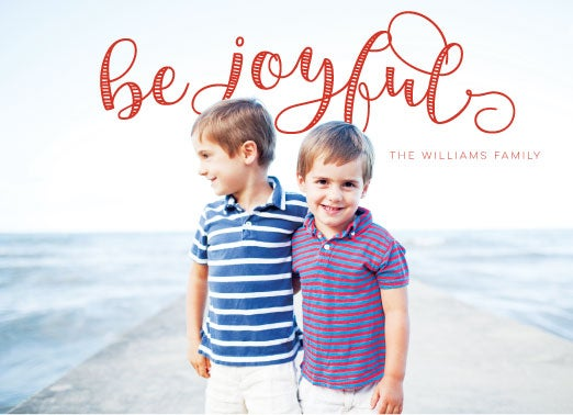 Image of Be Joyful! Holiday Card