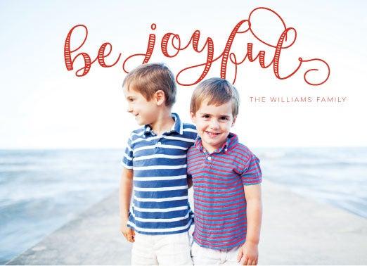 Image of Be Joyful! Holiday Card