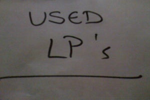 "Image of Sale and Used LP's/12""s/10""s etc, etc.... as Priced!!"