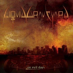 "Image of LIQUID GRAVEYARD ""On Evil Days"" CD"