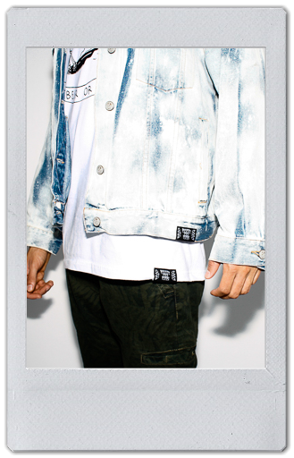 Image of BLEACHED DENIM JACKET 1