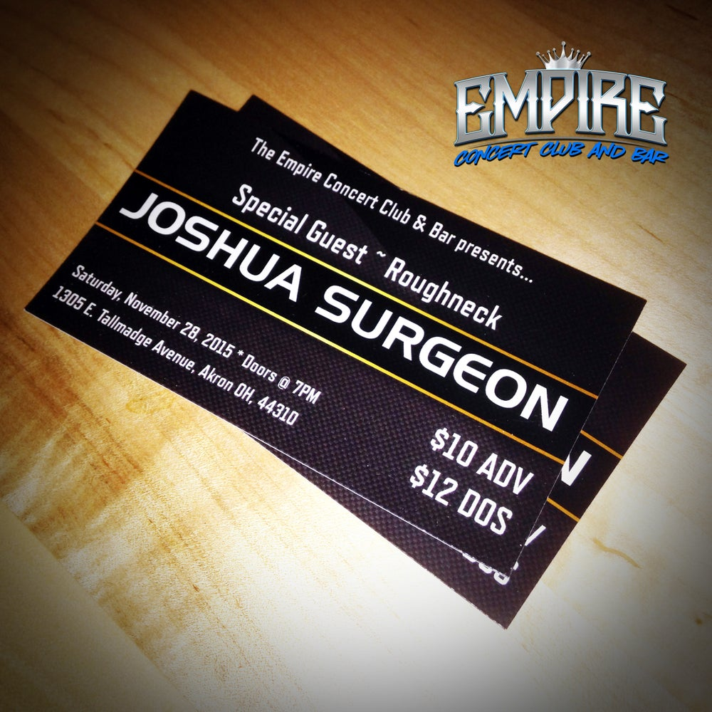 Image of Joshua Surgeon & The Dusty Bottoms Band @ The Empire TICKETS