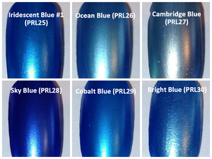 Image of Blue Pearl Pigments <p> (5 gr.) </p> 13 Colors Available