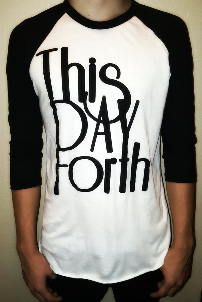 """Image of """"This Day Forth"""" Baseball-Tee"""