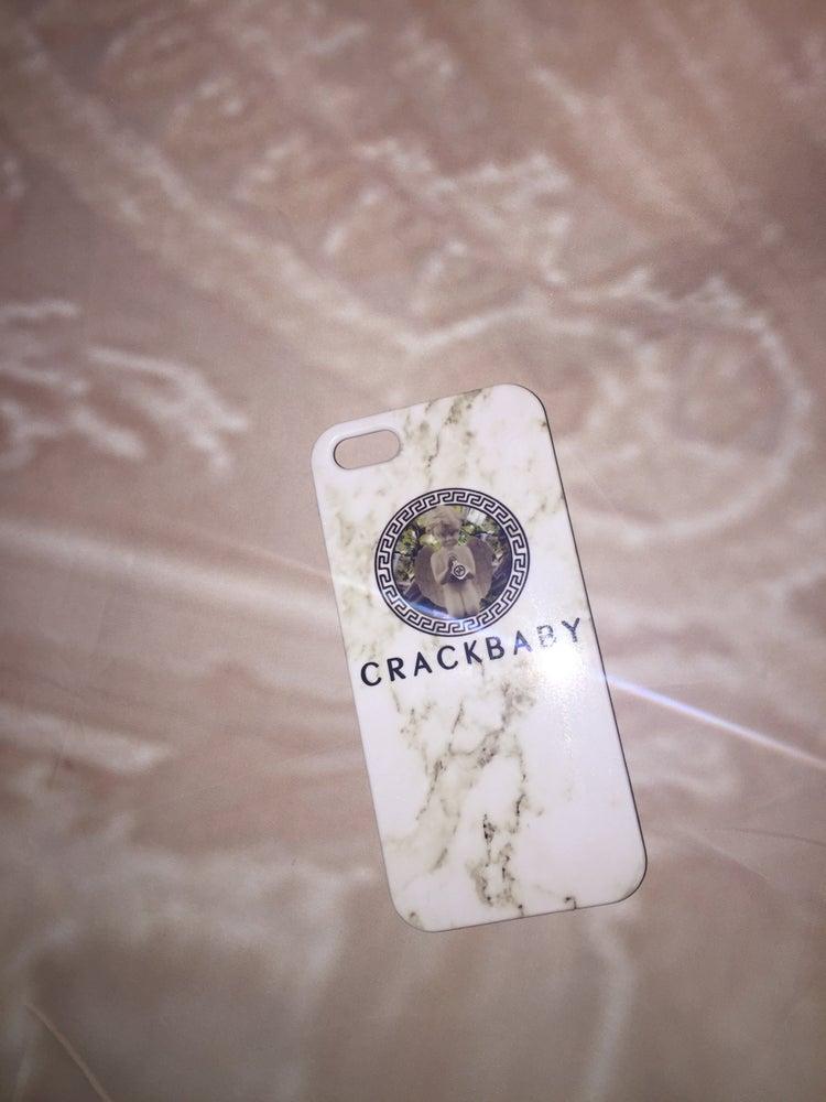 Image of Crackbaby Logo iPhone5 Case