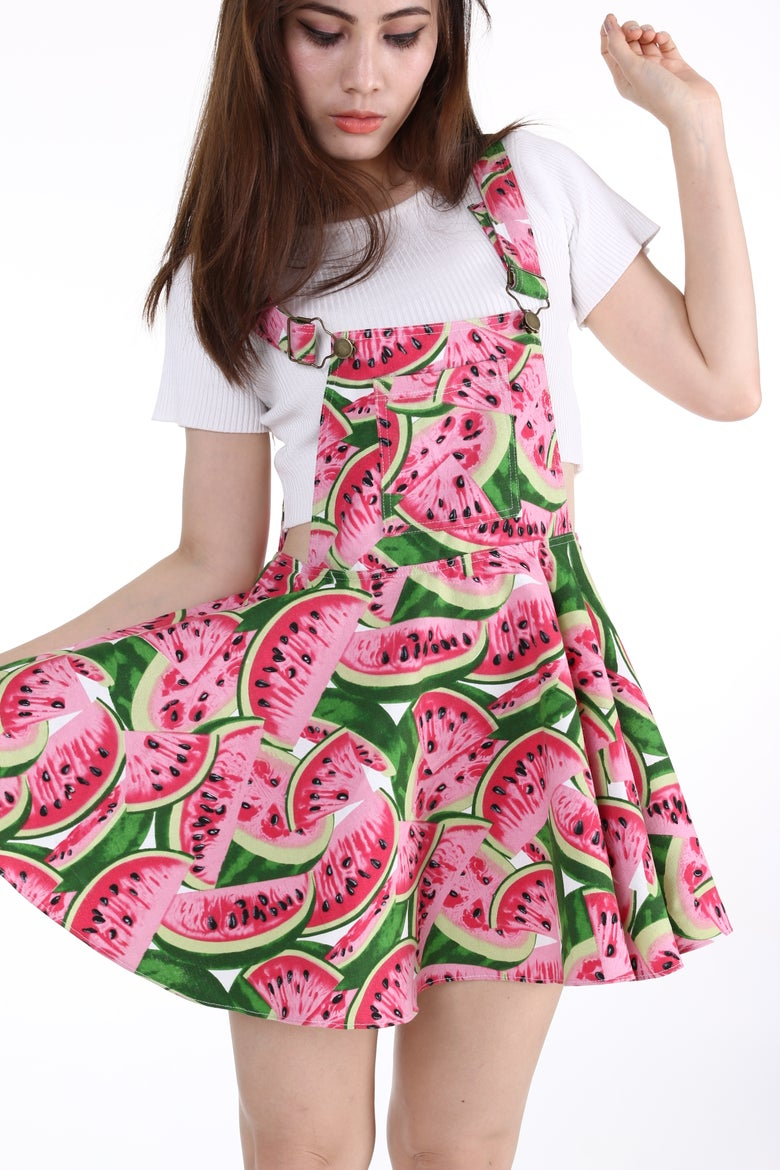 Image of Made To Order- Watermelon Pinafore