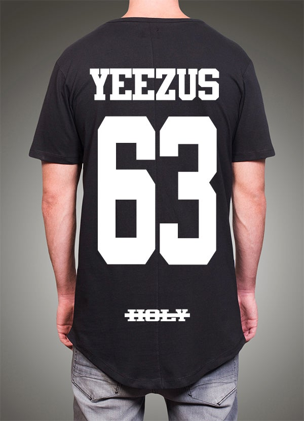 """Image of """"Yeezus"""" Round - Black"""