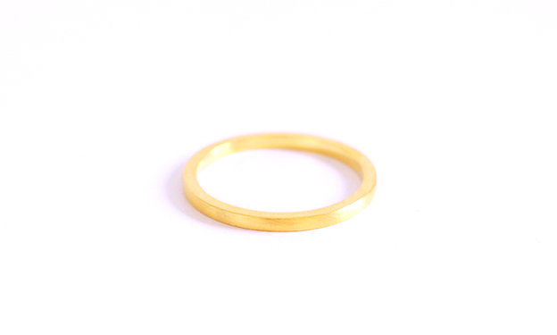 Image of Harmonie , Wedding ring in Fairmined gold 18k