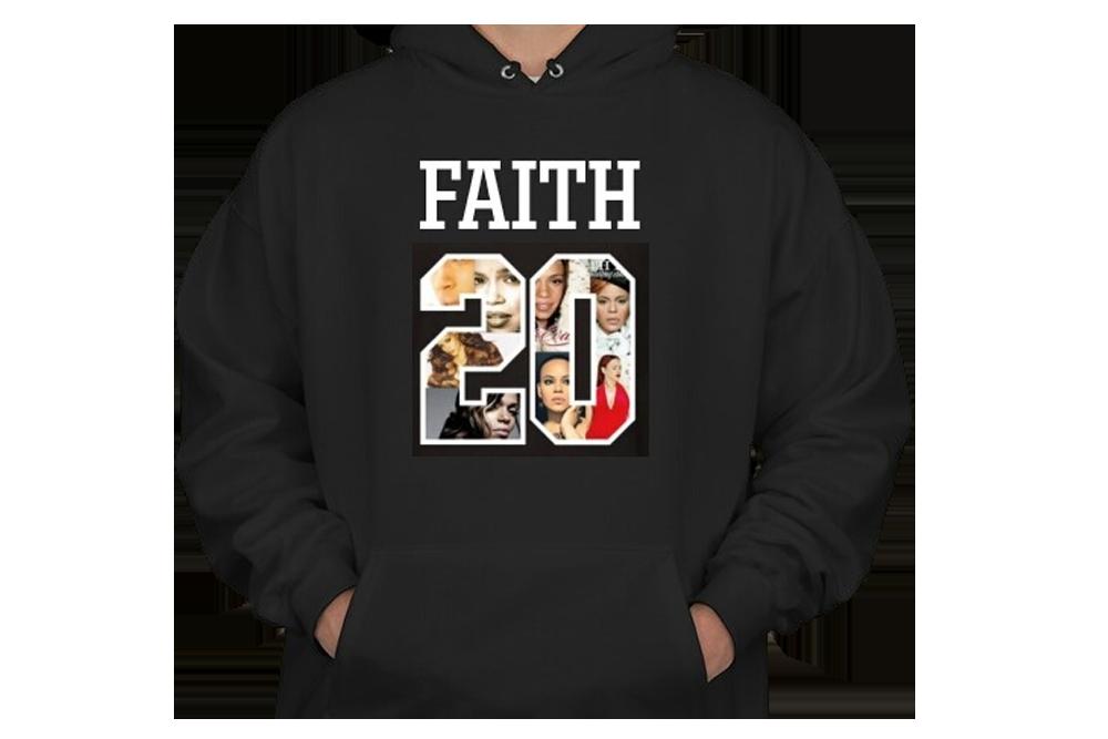 Image of #FAITH20 Unisex Hooded Sweatshirt
