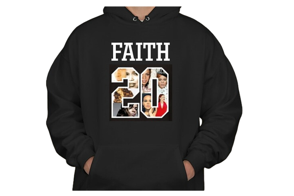 Image of #FAITH20 Unisex Hooded Sweatshirt