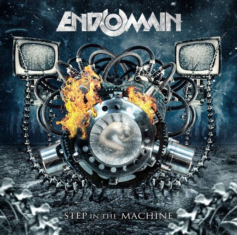 "Image of Endomain CD ""Step In The Machine"""