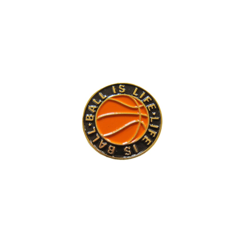 Image of Ball Is Life Lapel Pin