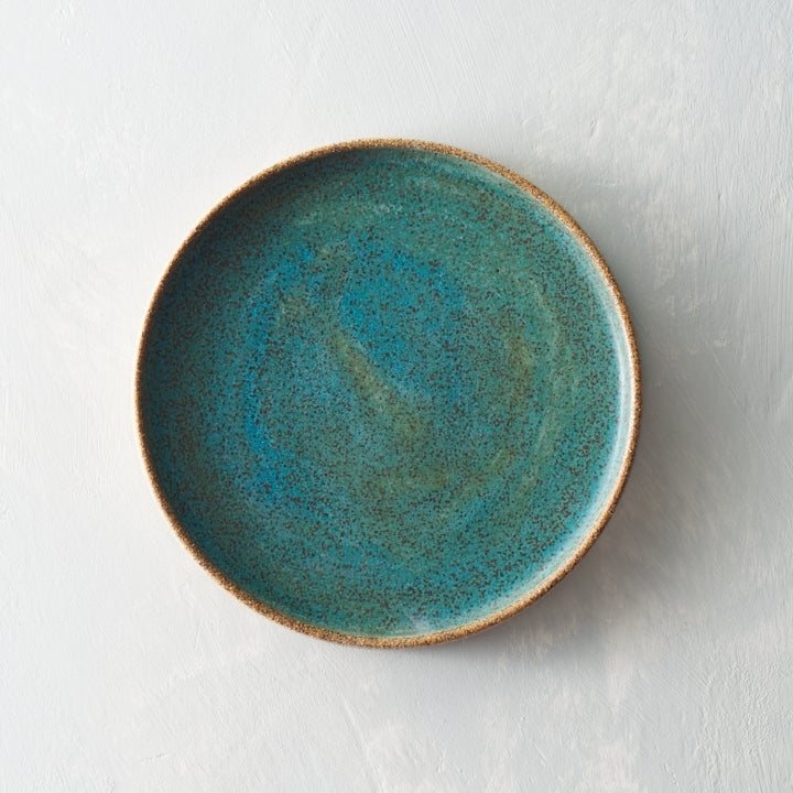 Image of Emerald Blue Green Speckle plate