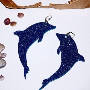 Image of Dolphin Earring Pair |Marina Fini|