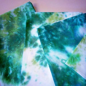Image of Sleeping In The Sea Tie-Dye Pillowcases |NOTS|