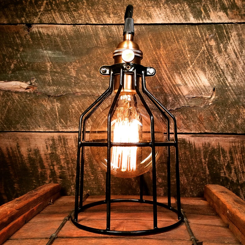 Image of Trouble Cage Table Lamp