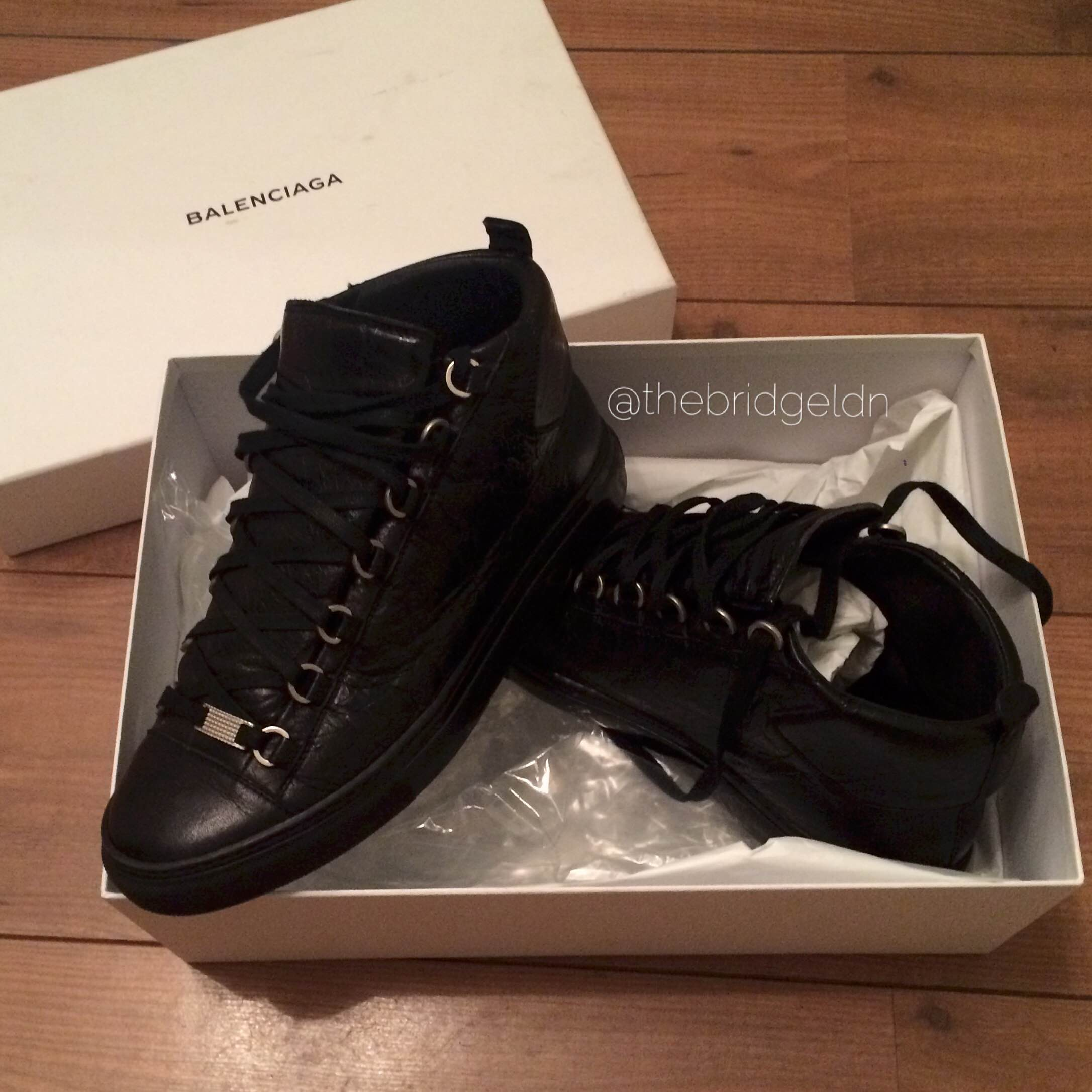 balenciaga arena high