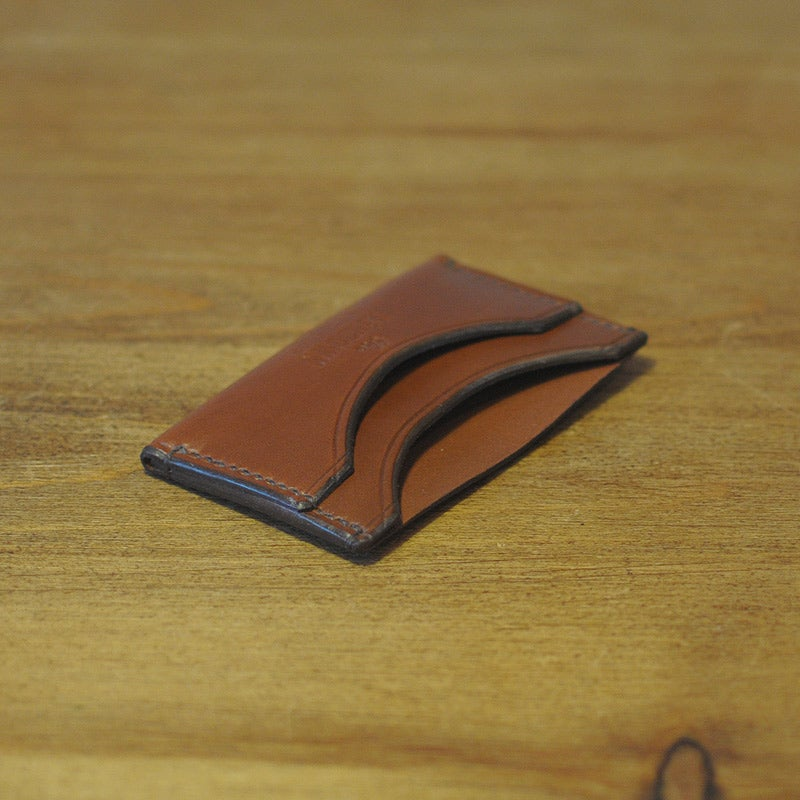 Image of Classic Card Holder - Almond