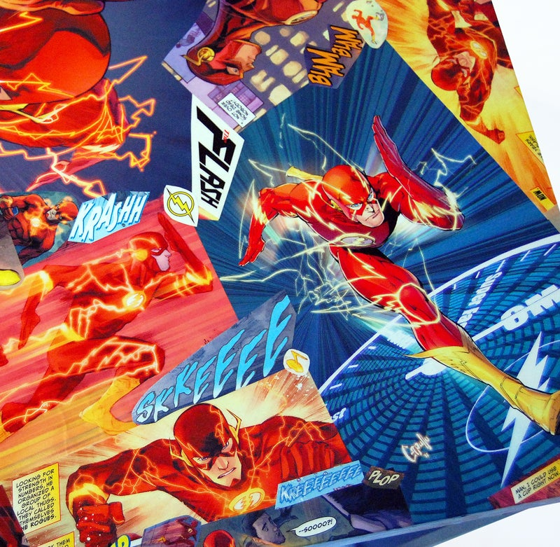 Image of The Flash Comic Collage Table