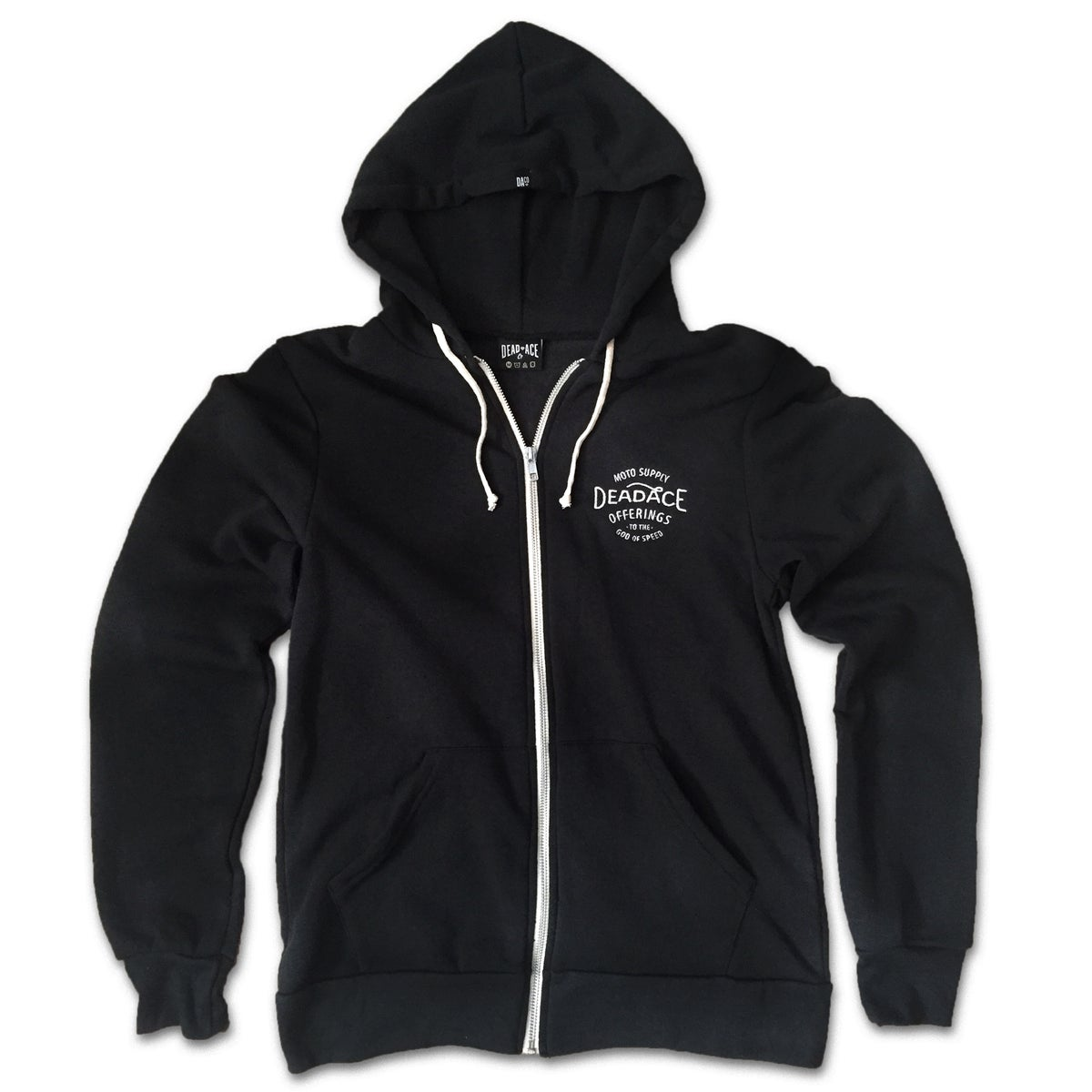 Image of God of Speed Zip-Front Hoodie