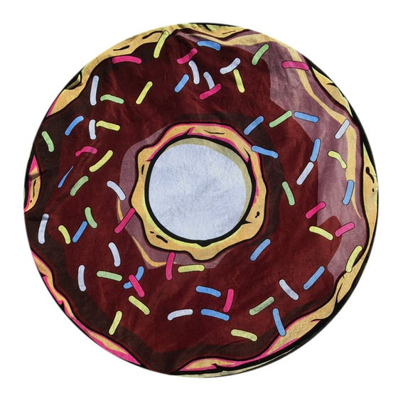 Image of Donut Beach Towel