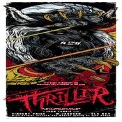 Image of THRILLER - art print - Rick Baker tribute show