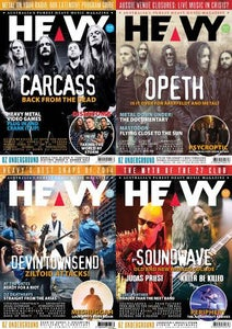 Image of HEAVY Back Catalogue Issue 10 - 14
