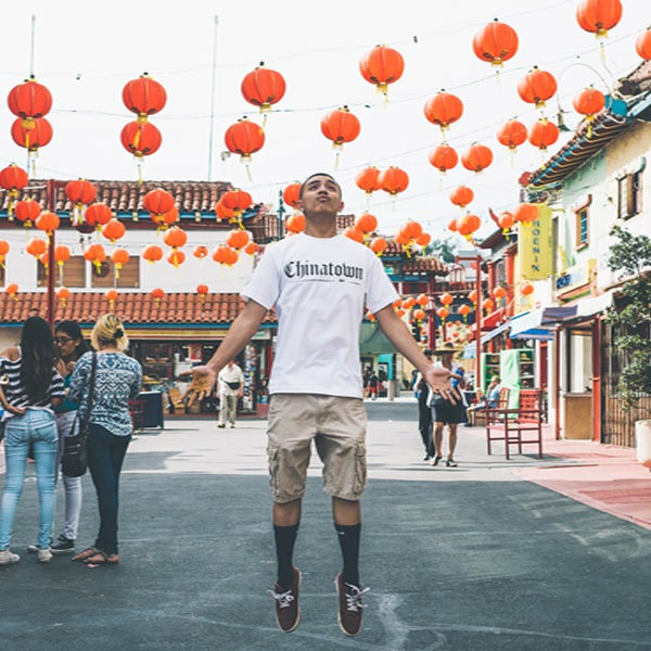 Image of Chinatown Tee (White)