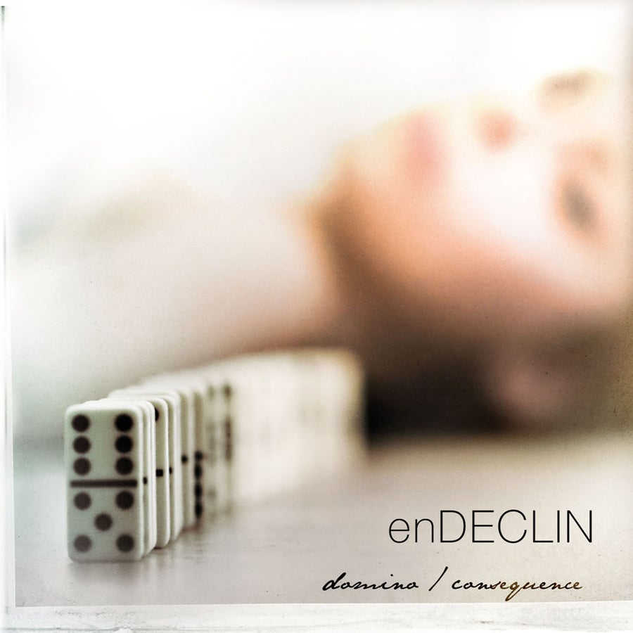 "Image of EN DECLIN ""Domino / Consequence"" CD"