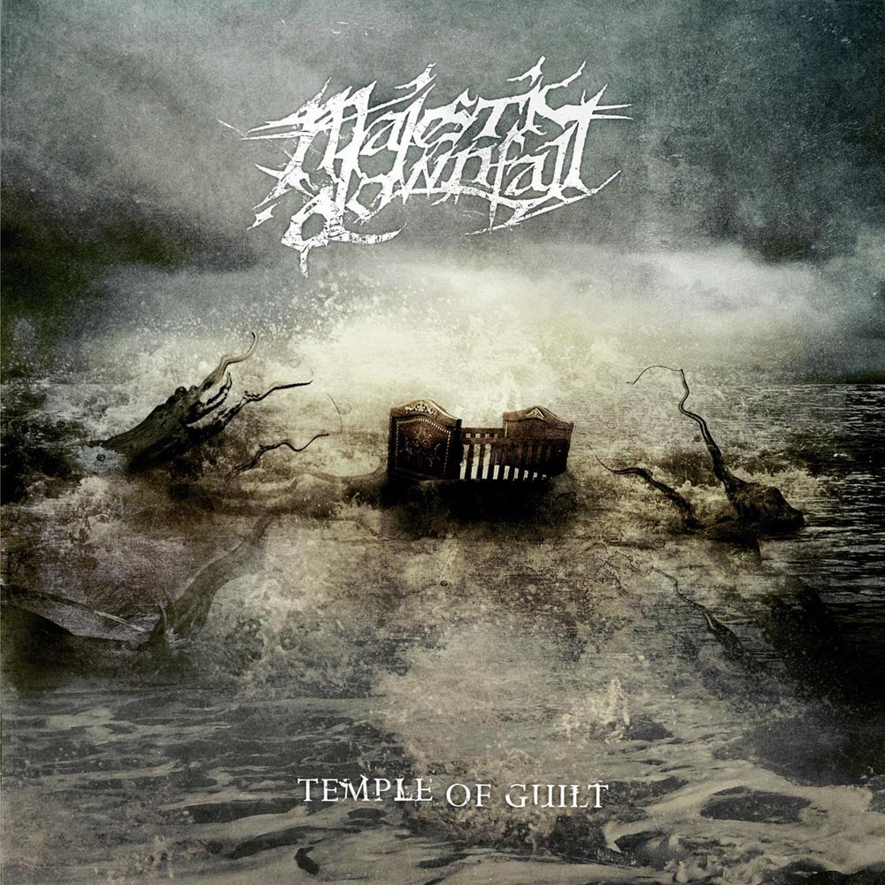 "Image of MAJESTIC DOWNFALL ""Temple Of Guilt"" CD"
