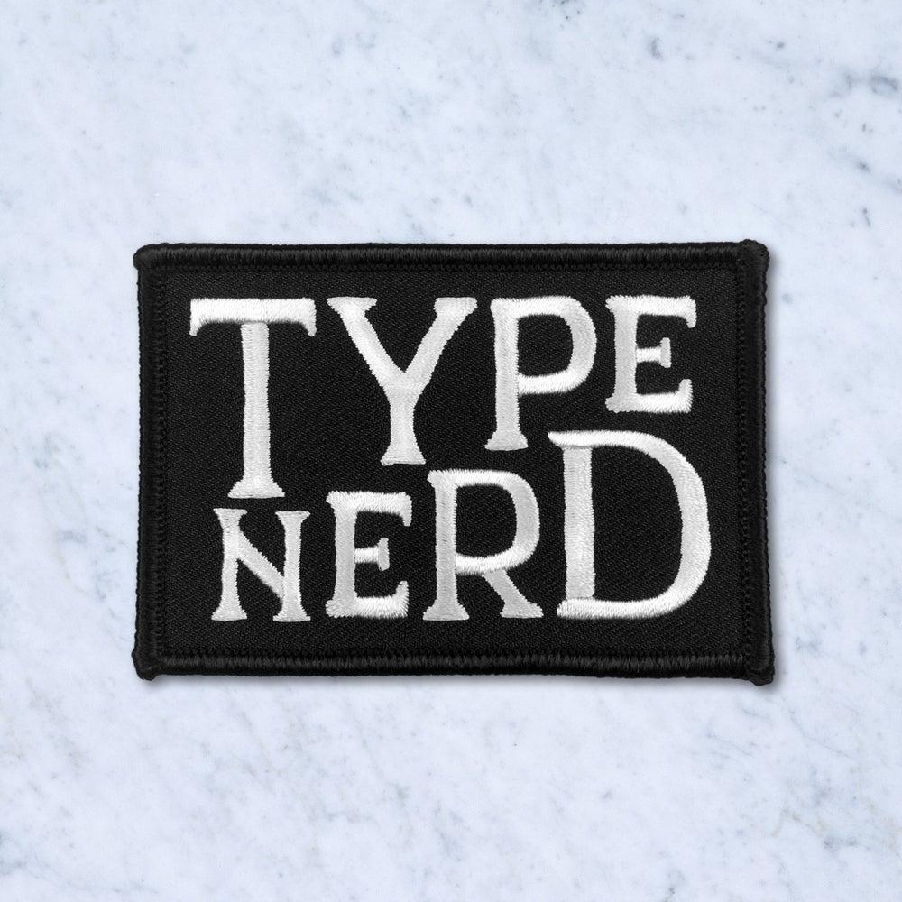 Image of Type Nerd Patch