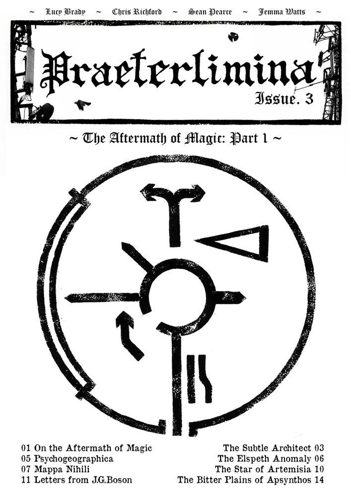 Image of Praeterlimina Zine - Issue 3