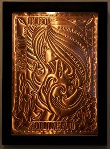 Image of Ink Nouveau - Copper Repoussé