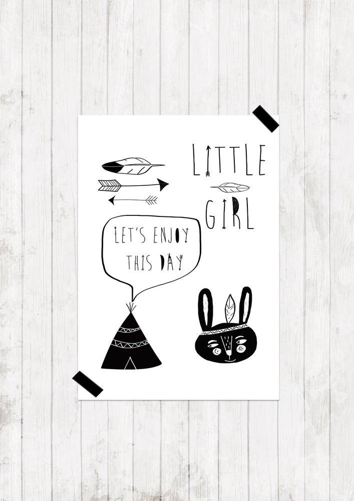 "Image of Lámina ""Little Girl"""