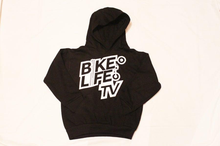 Image of BikeLife TV Kids Pullover Hoodie (Glow In The Dark)