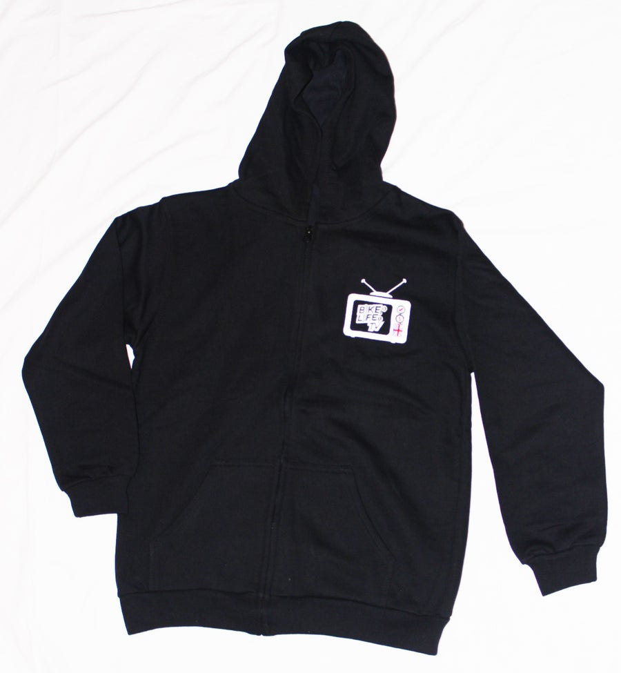Image of BikeLife TV Kids Zip Hoodie
