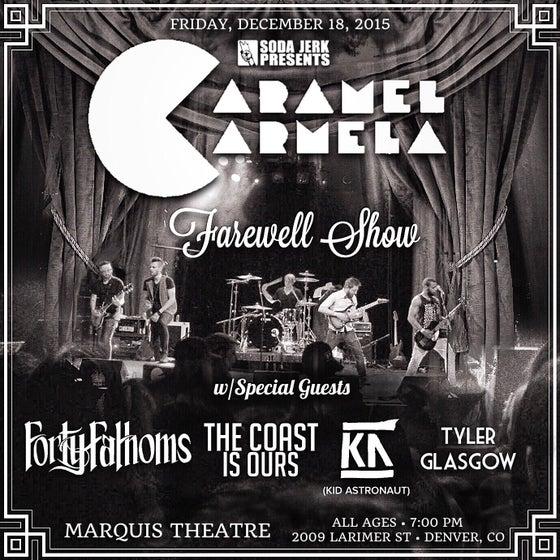 Image of Caramel Carmela Farewell Show Tickets