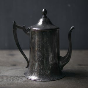 Image of Silver Teapot