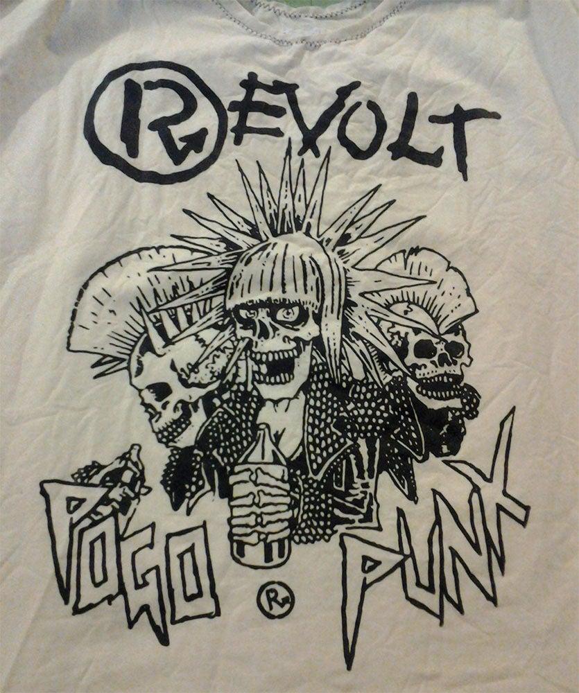 Image of Revolt pogo punx bondage shirt