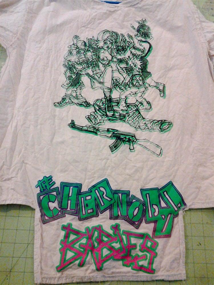 Image of Chernobyl Babies bondage shirt