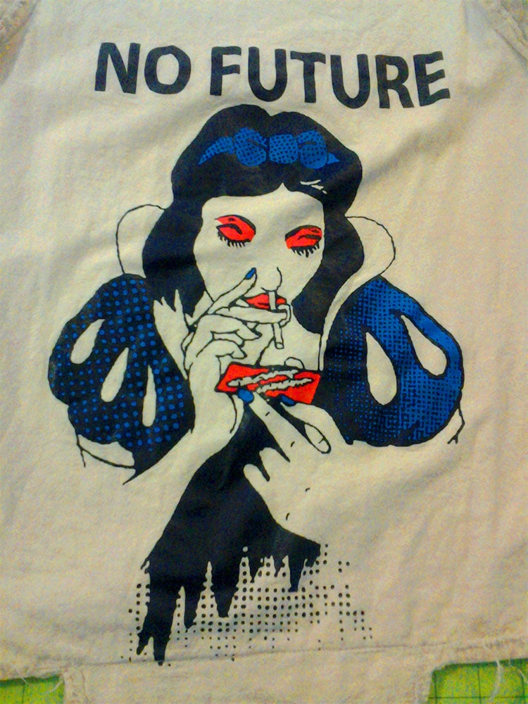 Image of No Future Snow White t-shirt