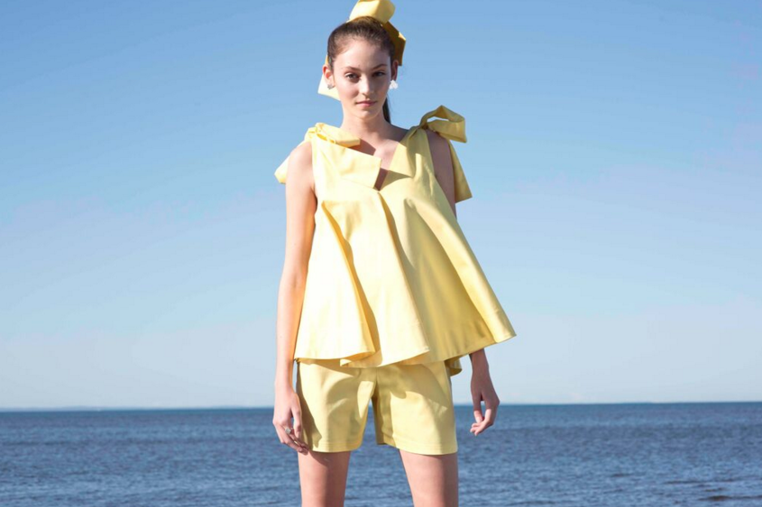 Image of ELROY SHORTS - Canary yellow - ON SALE