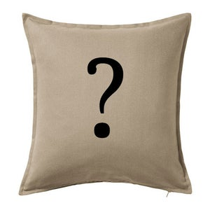 Image of SURPRISE! Custom Painted Throw Pillow Cover