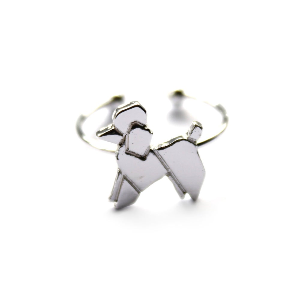Image of ORIGAMI POOCH RING